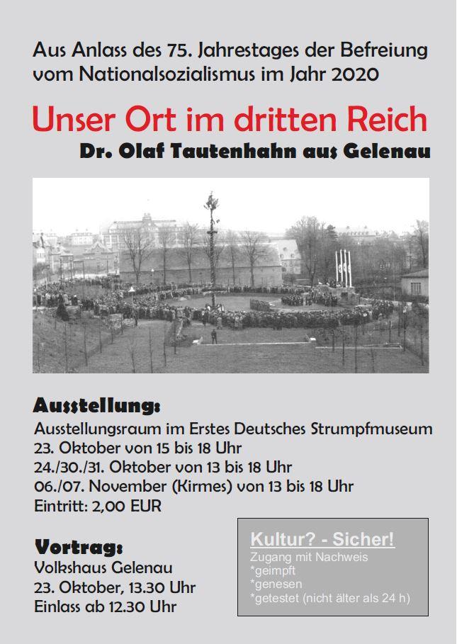 Ausstellung - Unser Ort im Dritten Reich